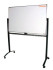 Papan Tulis Whiteboard 80X120 (Double face + Stand)