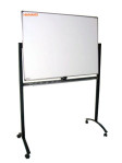 Papan Tulis Whiteboard 90X120 (Single face + Stand)