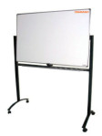 Papan Tulis Whiteboard 120X240 (Double face + Stand)
