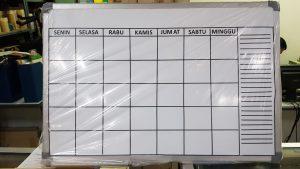 Papan Data Jadwal Hanako